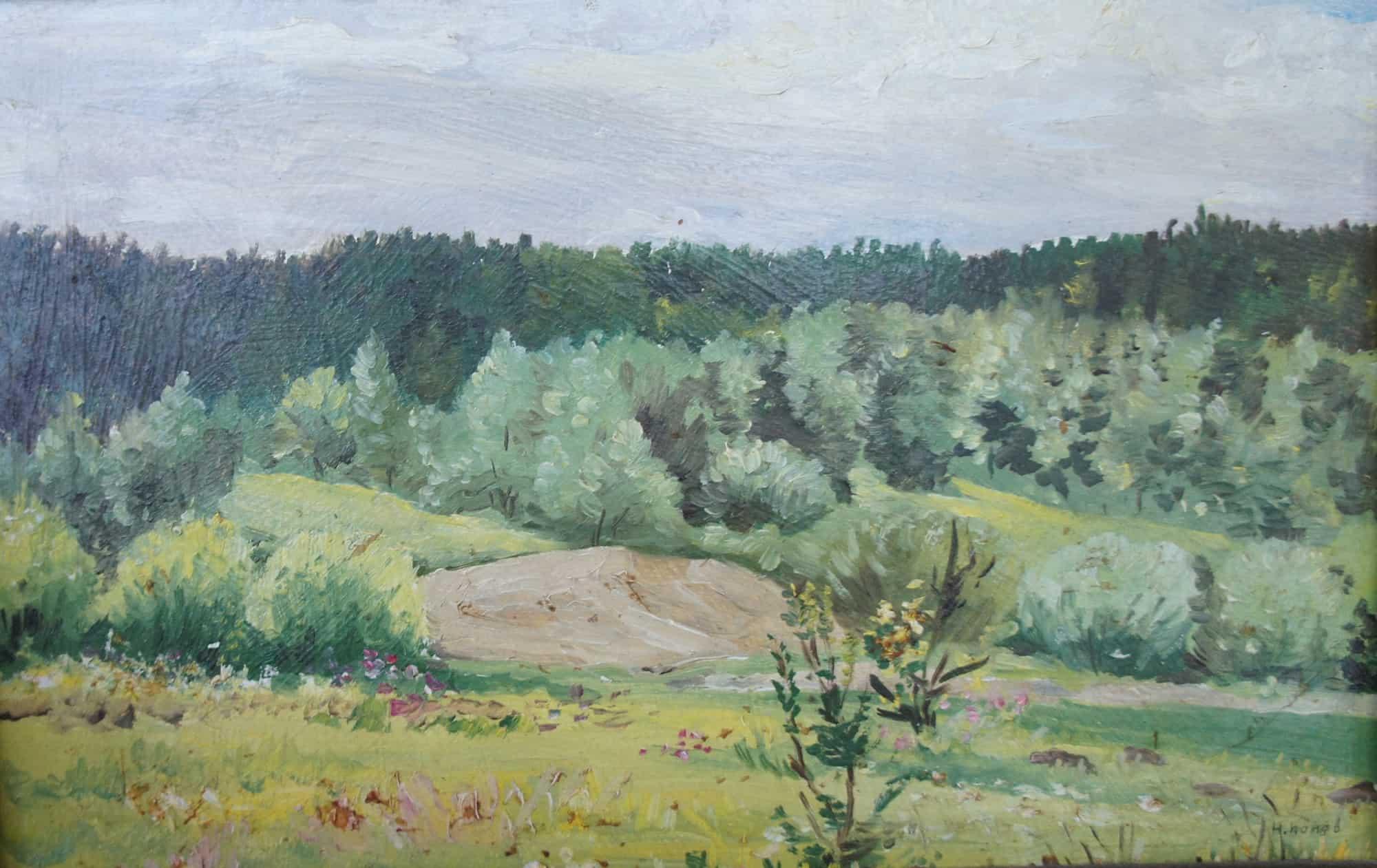 В окрестностях Питкяранты. 1988