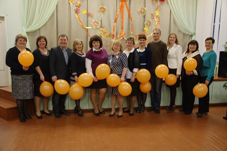 Открытие семинара в школе поселка Ильинский
