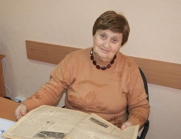 Людмила Кириллова. Фото из архива ПетрГУ
