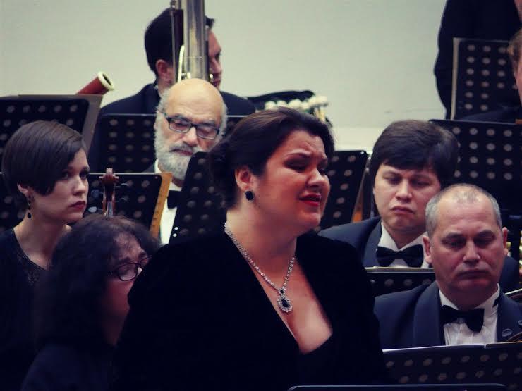 Олеся Петрова исполняет «Песни об умерших детях»  Густава Малера в Карельской филармонии