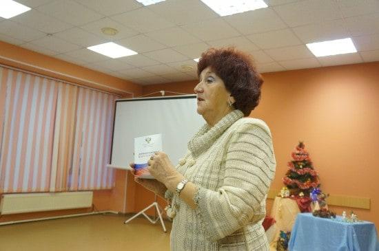 Руководитель проекта подготовки геронтоволонтеров Тамара Цымбал