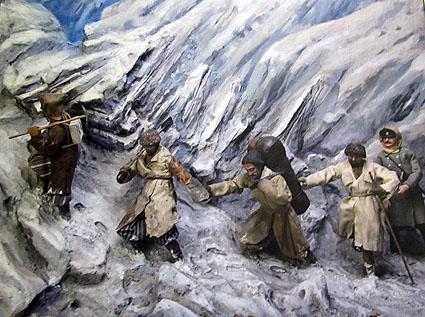 Так доставляли почту в горах Кавказа в конце XIX века