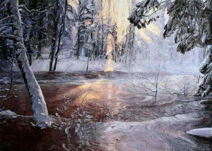 Татьяна Красовская. Зимнее утро