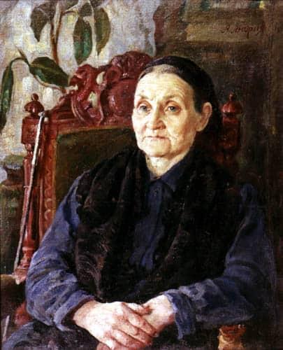 Александр Андриянов. Портрет матери