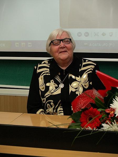 Татьяна Георгиевна Мальсукова. Фото с сайта ПетрГУ