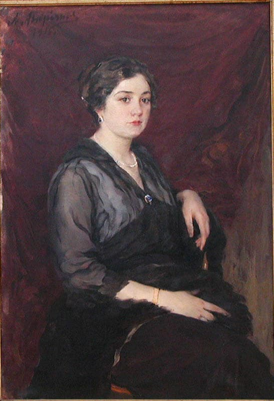 Александр Андриянов. Женский портрет
