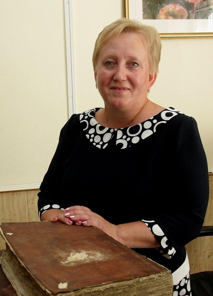 Ольга Жаринова директор национального архива Карелии