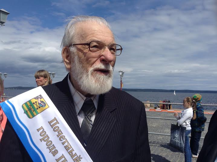 Академик Вячеслав Орфинский, защитник архитектуры города,  стал Почетным гражданином Петрозаводска в 2014 году