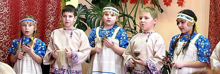 Детский коллектив Keloine Шелтозерской средней школы