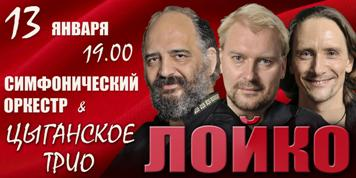 Знаменитое цыганское трио «Лойко» выступит в Карельской филармонии