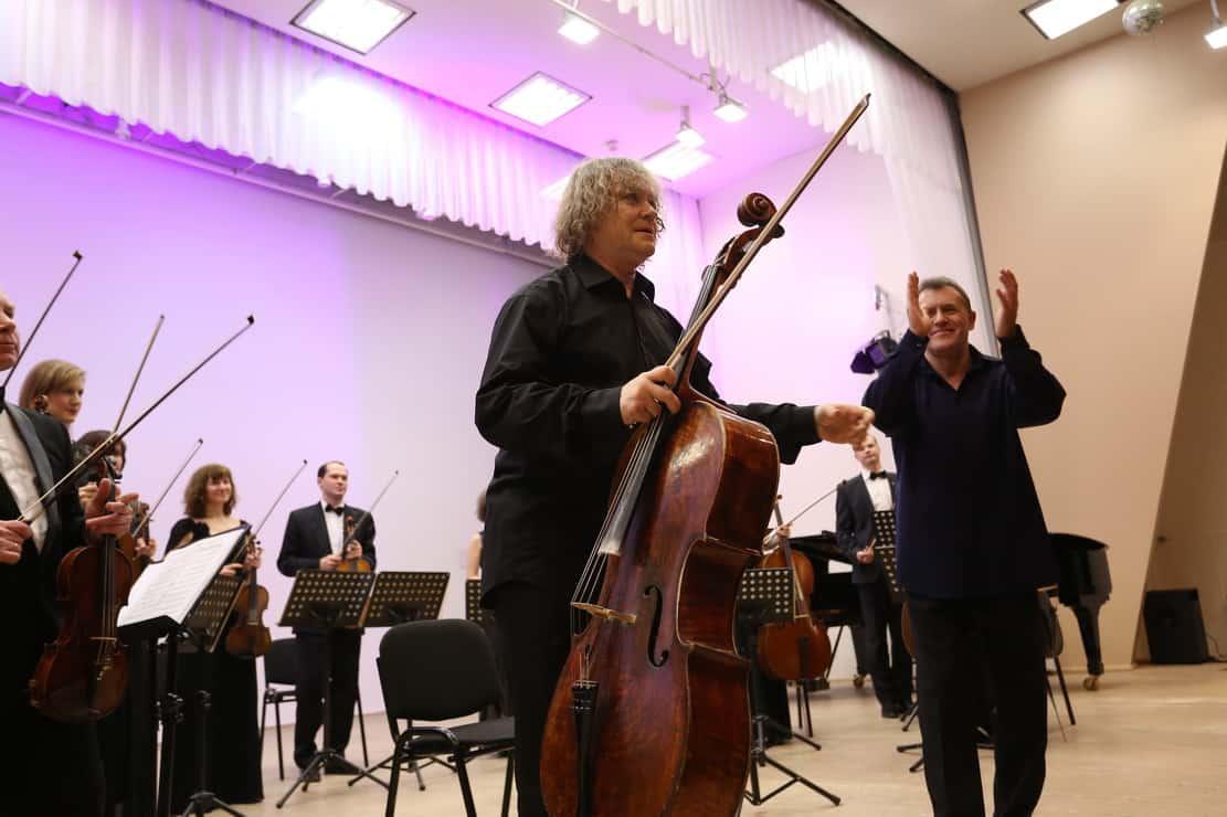 Человеческий голос виолончели Александра Князева (фото)