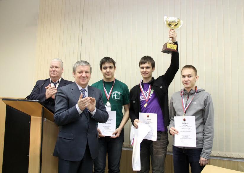 Кубок Главы Карелии по программированию отправился в Санкт-Петербург