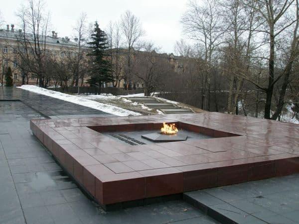 Мемориал Вечный огонь в Петрозаводске