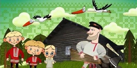 По вепсским сказкам сняли мультфильм Mužik da kurged