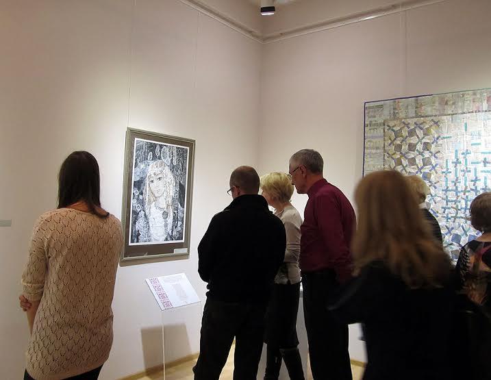 Работы Тамары Юфа, посвященные «Калевале», пользуются вниманием на любых выставках. Нынешняя не исключение