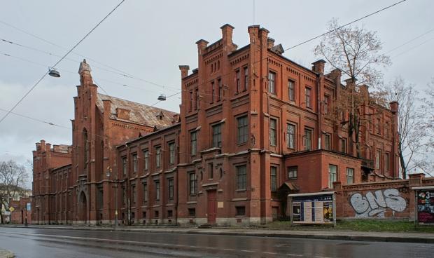 Евангелический госпиталь Петербурга в наши дни.Фото - qvowadis 2009
