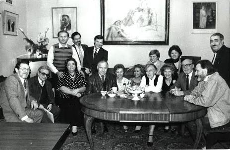 """Гастроли со спектаклем """"Завтра была война"""" в СТД. Москва, 8 ноября 1989 года"""