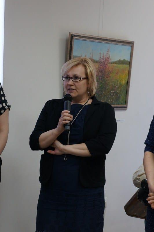 Директор ДХШ Олонца Юлия Журавлева