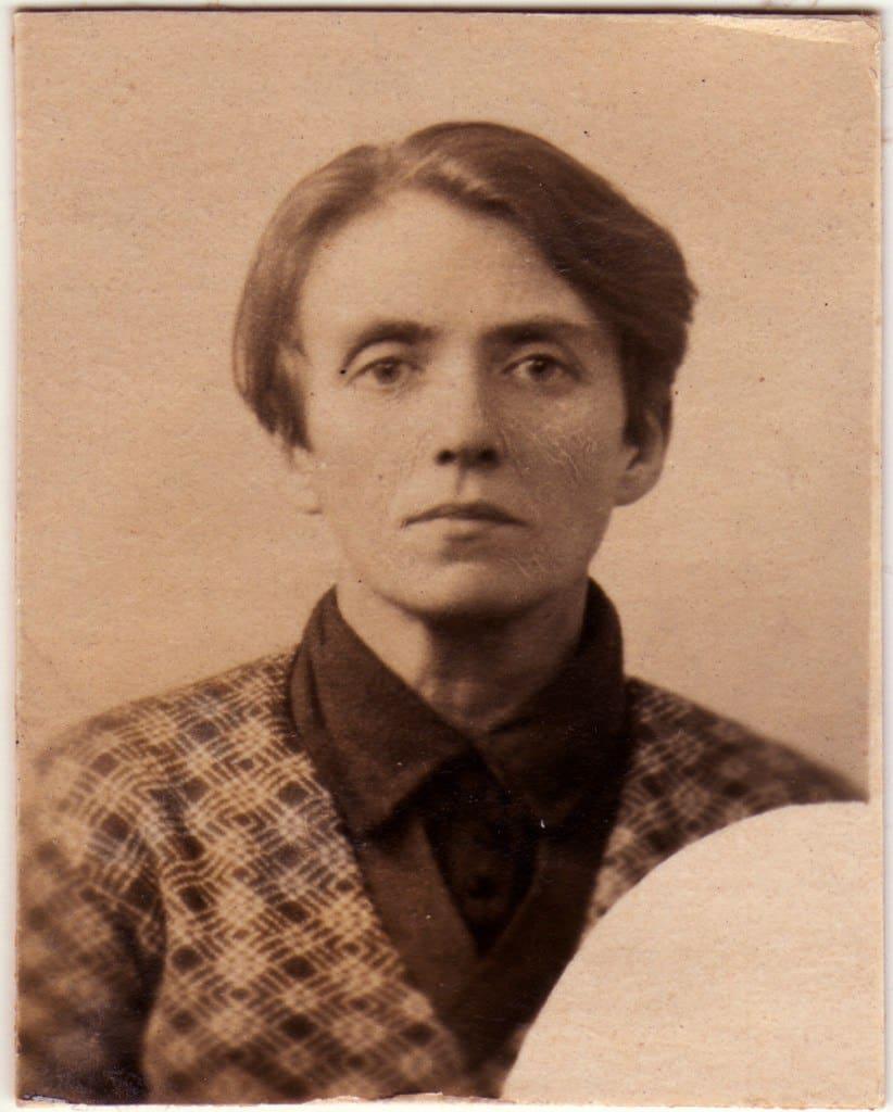Елена Сергеевна (Цур-Милен) Троицкая. из архива Л. Троицкого
