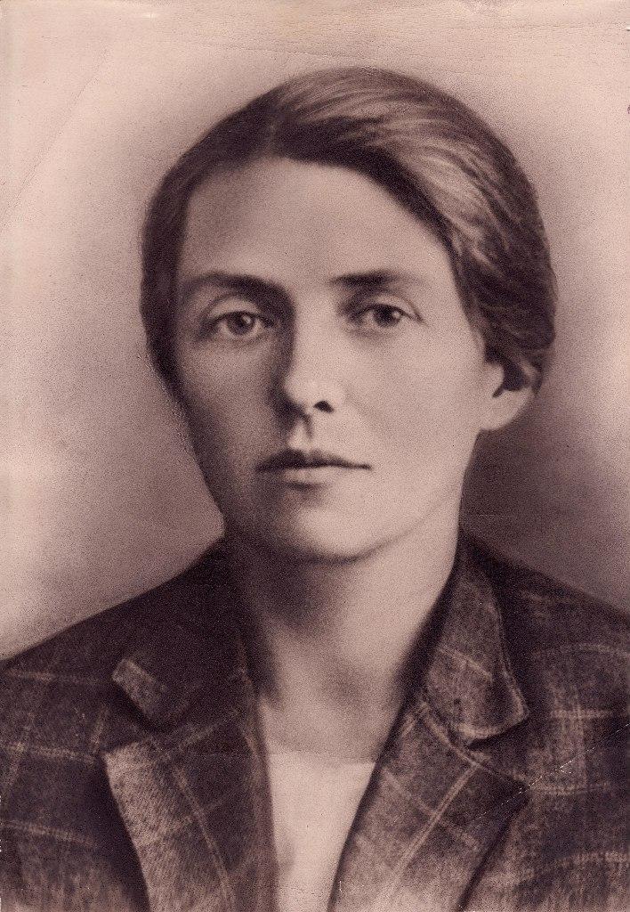 Елена Сергеевна Цурмилен, 20-е годы 20 века. Из архива Л. Троицкого