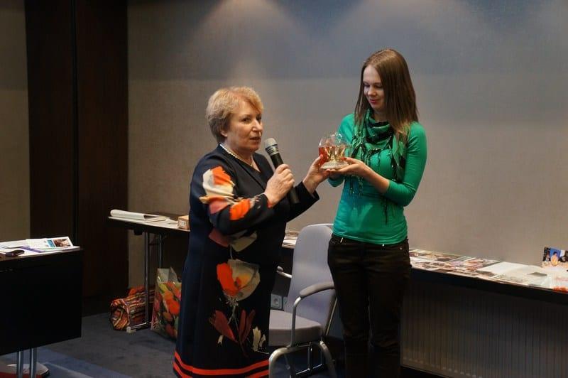 """Звание """"Лучший руководитель проекта"""" получает Наталья Козловская, Музей изобразительных искусств РК"""