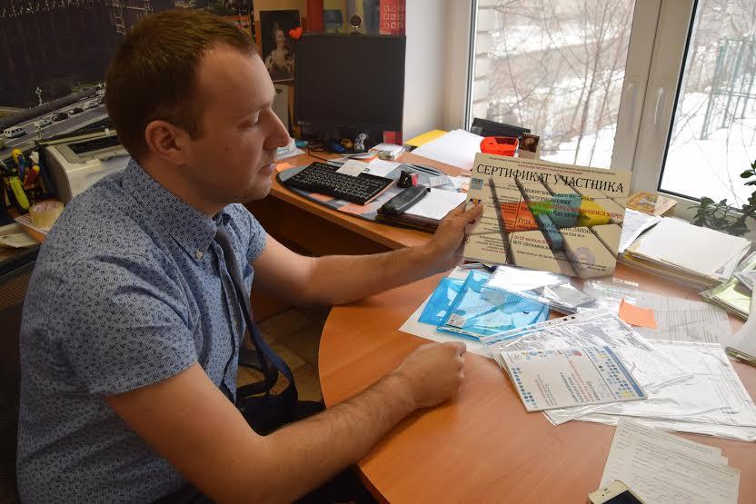 Владимир Яговзик, заместитель директора Державинского лицея