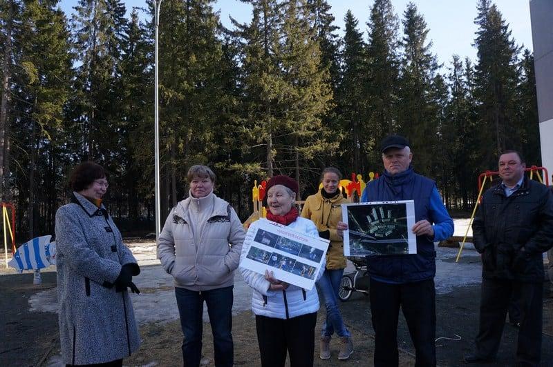 Сегодня жители Города Солнца, озабоченные планами по застройке лесной зоны, собрали пресс-конференцию