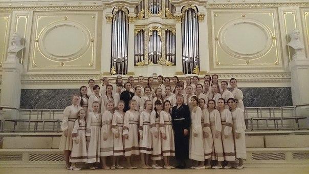 """Хор """"Теллерво"""" в Академической капелле Санкт-Петербурга"""