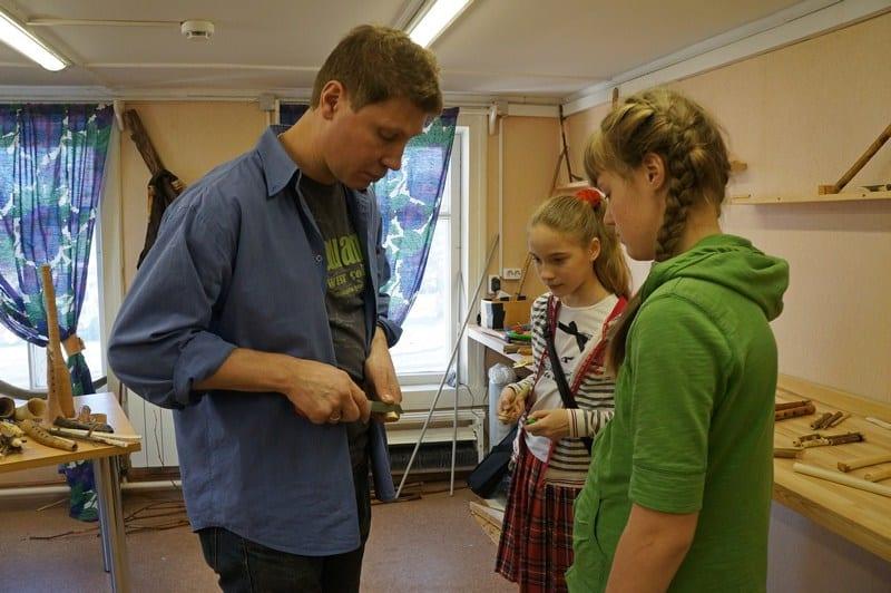 В Арт-слободе на мастер-классе Дмитрия Демина