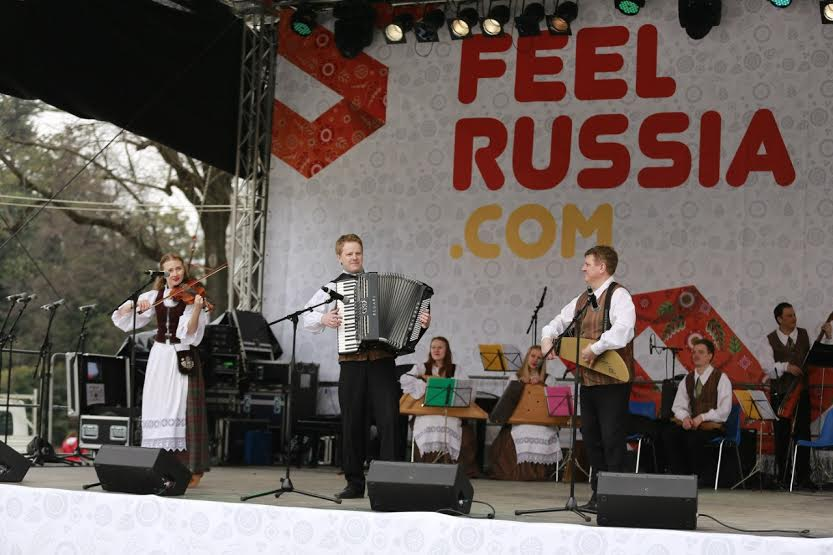 Национальный ансамбль песни и танца Карелии «Кантеле» выступил на фестивале российской культуры и искусства «Почувствуй Россию» в Милане