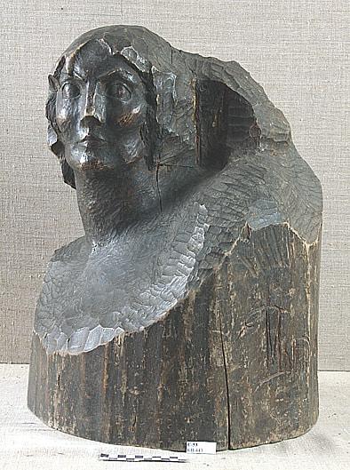 Марина Давыдовна Рындзюнская. Женский портрет. 1927