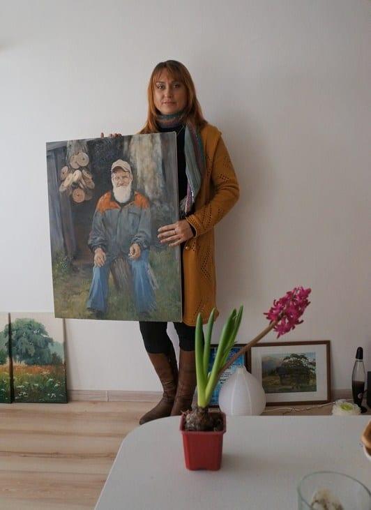 Жанна Свиридникова: «Портрет я люблю больше всего»