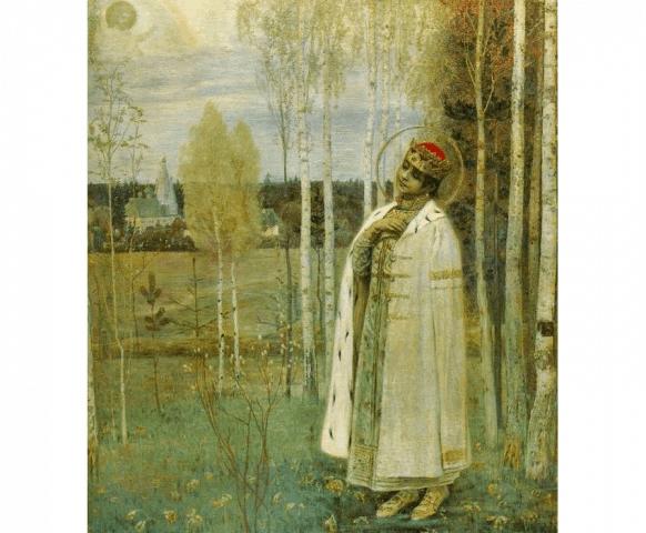 Михаил Нестеров. Дмитрий-царевич убиенный