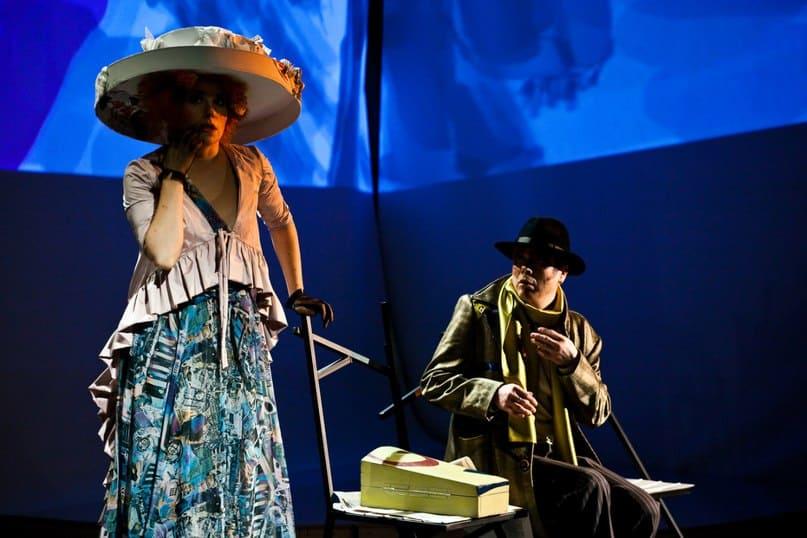 В «Творческой мастерской» с огромным успехом прошла премьера абсурдистской пьесы