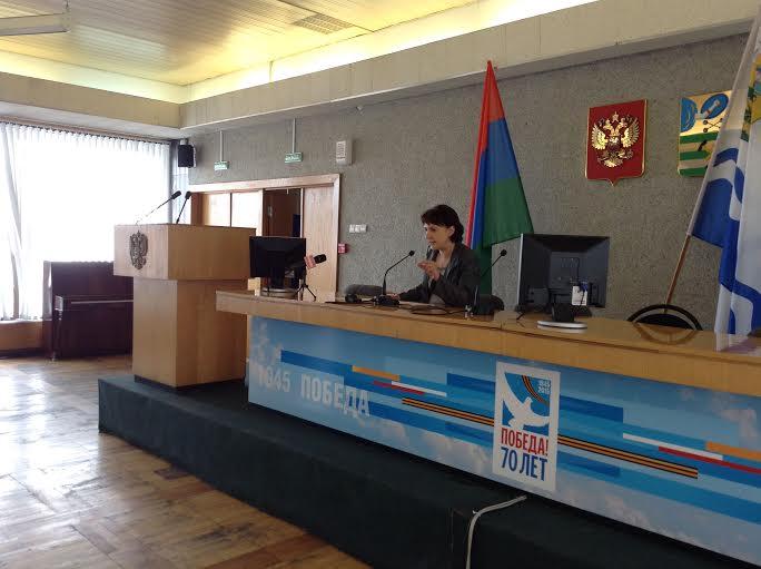 В Администрации Петрозаводска руководители общественных организаций и инициативных групп граждан встретились с мэром Галиной Ширшино