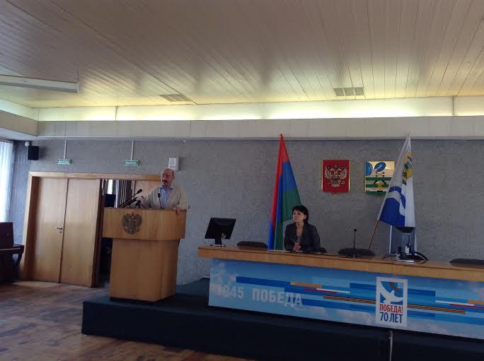 В Администрации Петрозаводска руководители общественных организаций и инициативных групп граждан встретились с мэром Галиной Ширшиной
