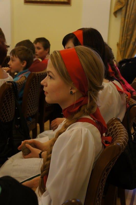 На презентации сборника о Малых Федосовских чтениях