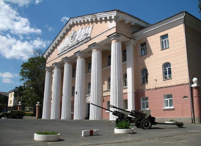 Дом офицеров в Петрозаводске. Фото Николая Инюшина