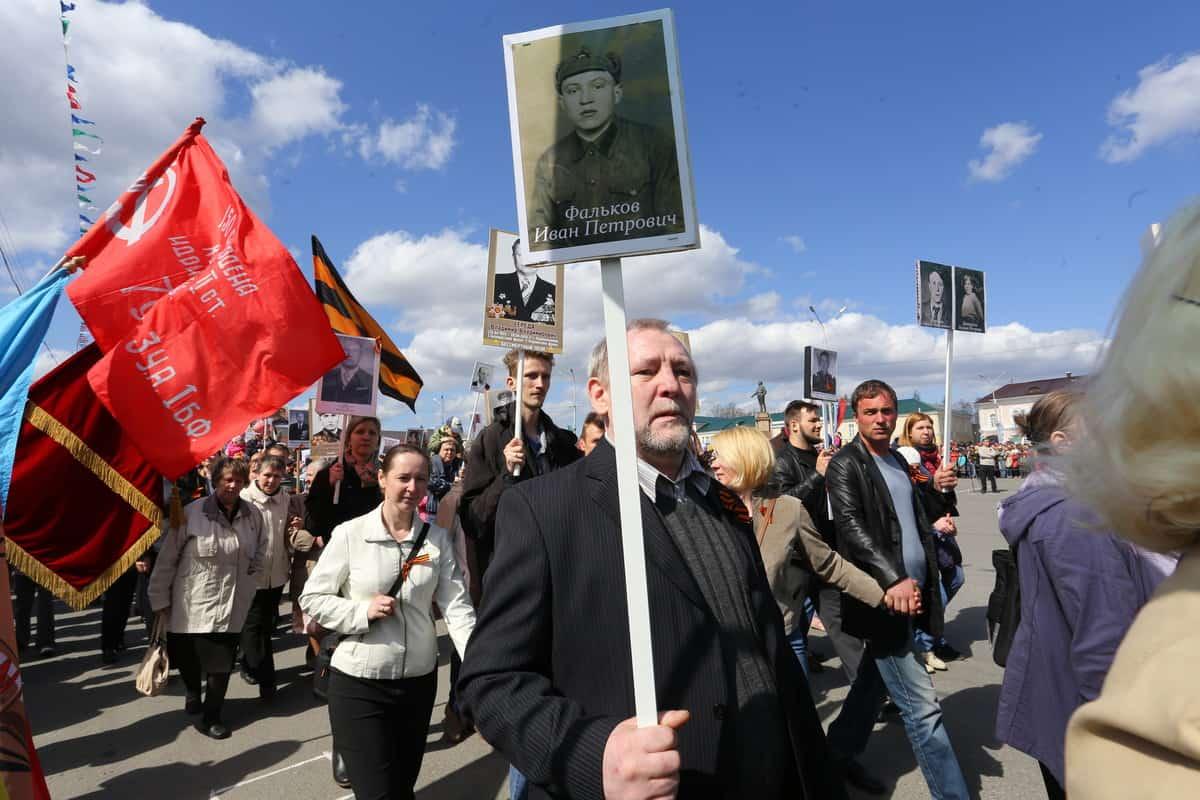 9 мая в Петрозаводске. Фото Владимира Ларионова