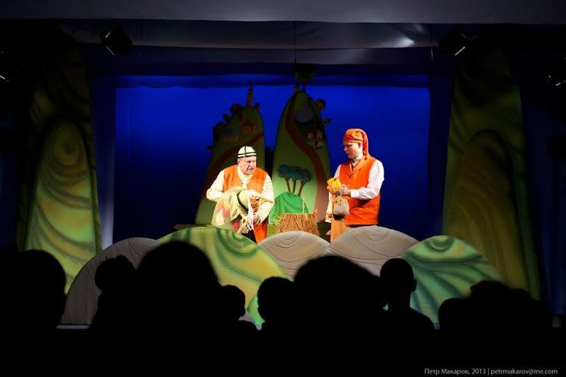 Гастроли Мурманского областного театра кукол в Петрозаводске