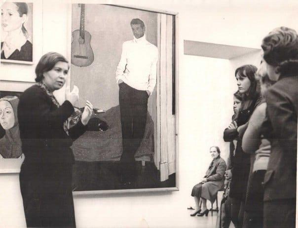 Серафима Полякова. Фото Музея изобразительных искусств РК