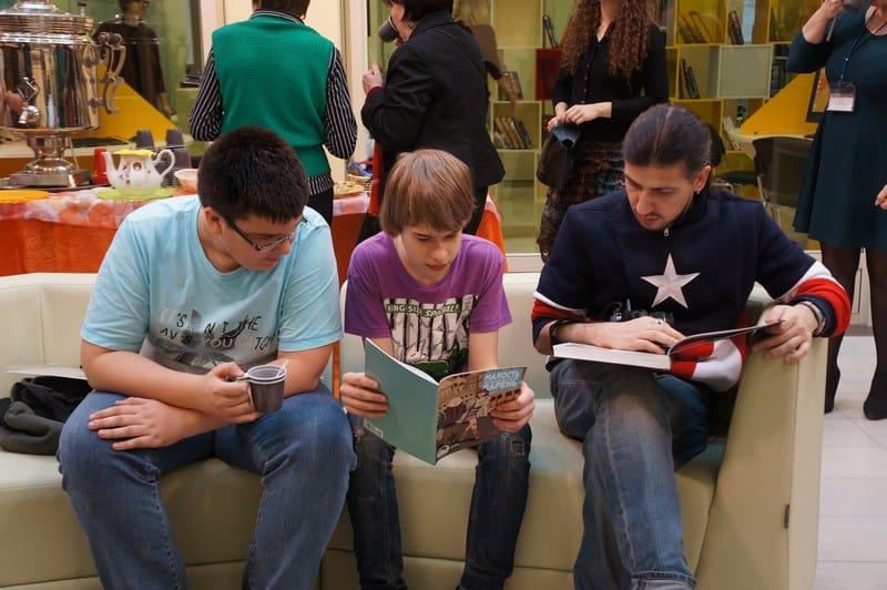 Библионочь-2015 в  Национальной библиотеке РК. Фото Ирины Ларионовой