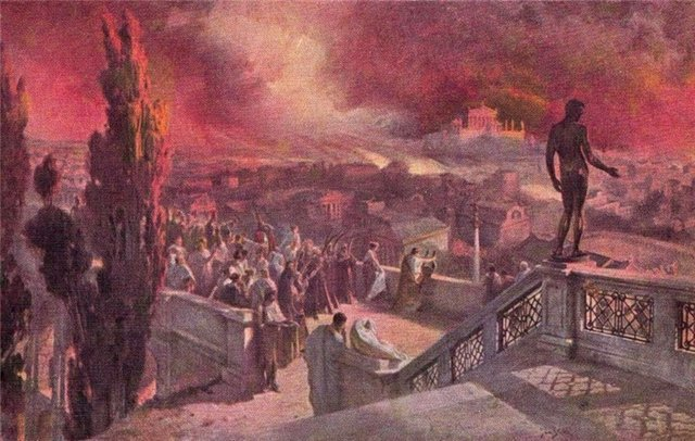 Ян Стыка. Пожар в Риме