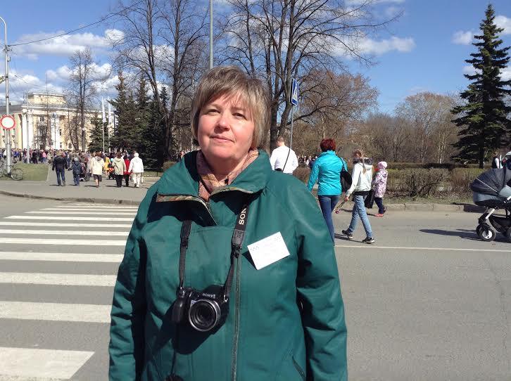 Инициатор акции Юлия Свинцова. Фото Натальи Мешковой