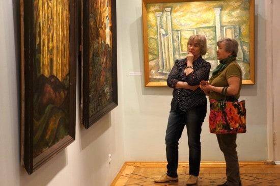 В Музее изобразительных искусств Карелии. Фото Ирины Ларионовой