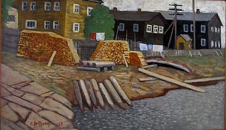 Суло Юнтунен. Старые дома. 1967