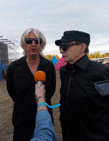 Эдмунд Шклярский (справа) и Марат Корчемный