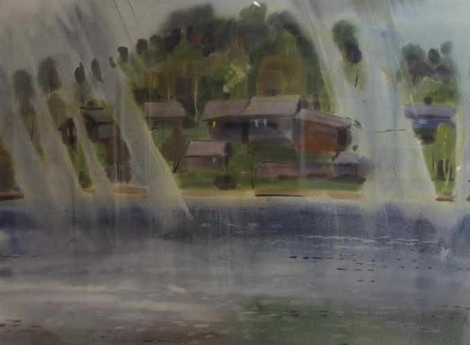 Акварельные дожди в Карелии