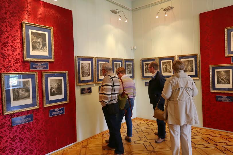 Музей изобразительных искусств РК. Выставка «Время ангелов. Шедевры английской гравюры XVIII века»