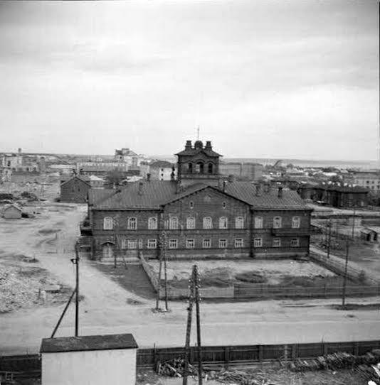 Дом Красной армии в 1942 году. Архив сил обороны Финляндии